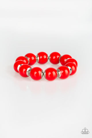 Paparazzi Bracelet - Candy Shop Sweetheart - Red