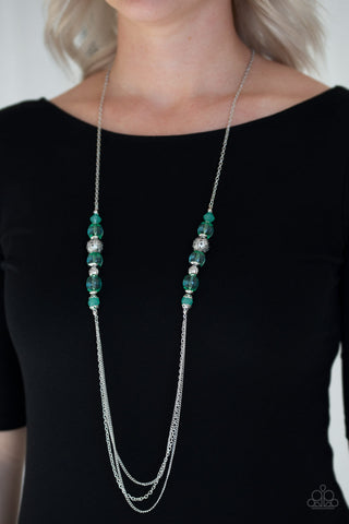 Paparazzi Necklace - Native New Yorker - Green
