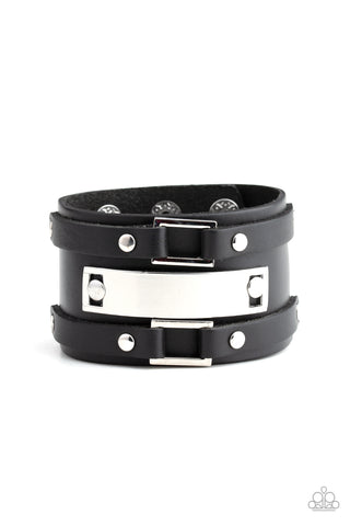 Paparazzu Urban Bracelet - Rural Ranger - Black