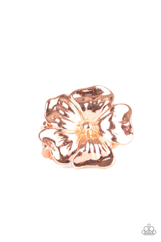 Paparazzi Ring - Tropical Gardens - Copper