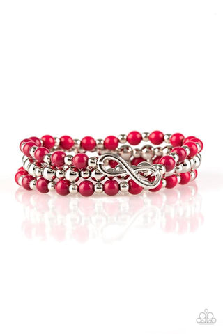 Paparazzi Bracelet - Immeasurably Infinite - Pink