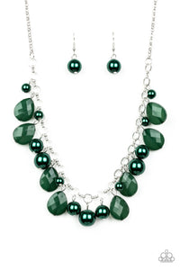 Paparazzi Necklace - Pacific Posh - Green
