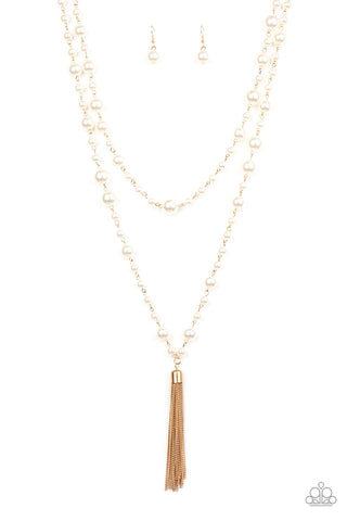 Paparazzi Necklace - Social Hour - Gold