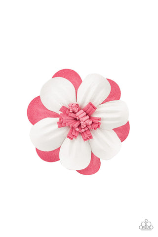 Paparazzi Hair Accessories - Merry Magnolia - Pink
