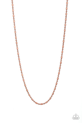 Paparazzi Urban Necklace - Covert Operation - Copper