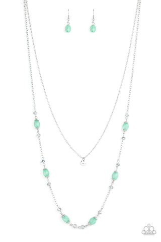 Paparazzi Necklace - Irresistibly Iridescent - Green