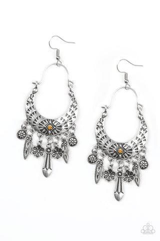 Paparazzi Earring -Nature Escape - Orange