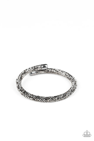 Paparazzi Bracelet - Stageworthy Sparkle - Black