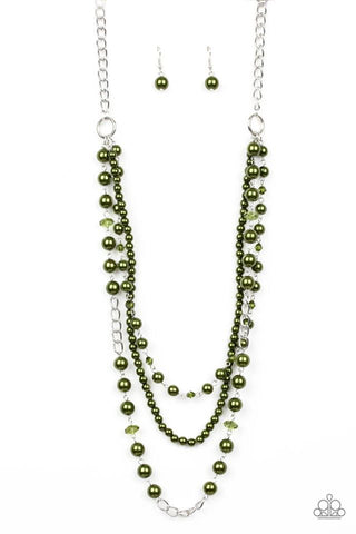 Paparazzi Necklace - New York City Chic - Green