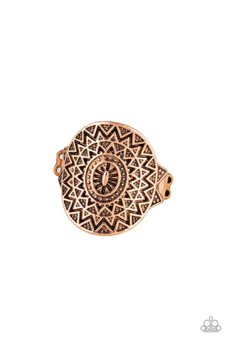 Paparazzi Ring - Good For The SOL - Copper