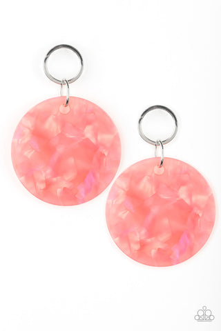 Paparazzi Earring - Beach Bliss - Orange