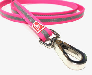 heavy duty dog leash with rubber coating