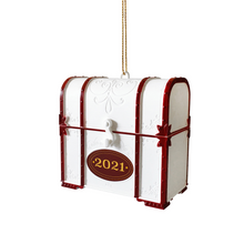 Load image into Gallery viewer, Christmas Capsule Ornament with Minibook