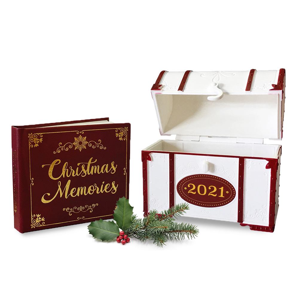 Christmas Capsule Ornament with Minibook