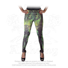 Alchemy Absinthe Fairies Leggings