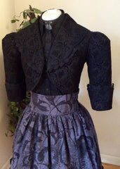 Zeon Kitty Steamgoth Lolita Victorian Half Jacket