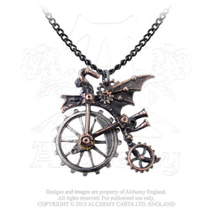Alchemy Ventus Traction Farthing Pendant (Penny Farthing)