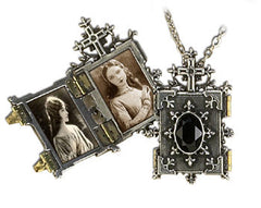 Alchemy Orthodox Icon Locket Pendant