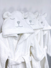 Load image into Gallery viewer, Baby & Kids Polar Bear Bathrobe