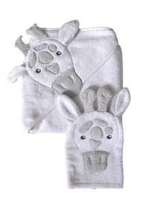Baby Hooded Towel Giraffe