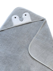 Baby Hooded Towel Penguin