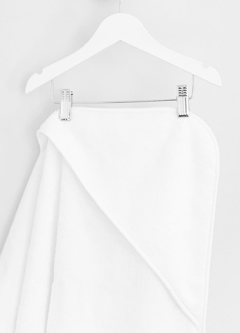 White Hooded Towel, Kids hooded towel