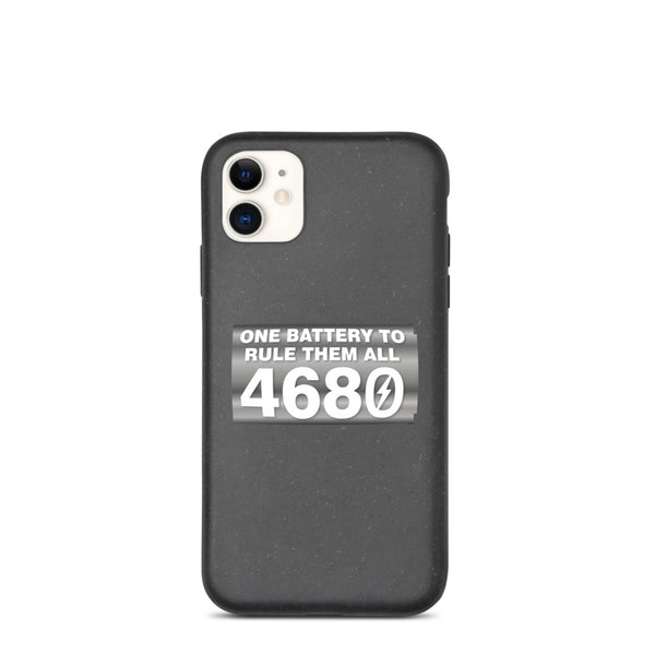 4680 ONE BATTERY TO RULE THEM ALL - Biodegradable phone case