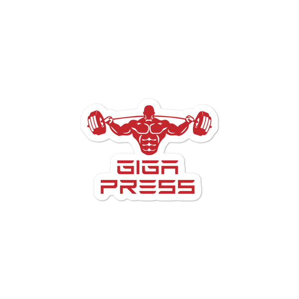 Giga Press - Sticker