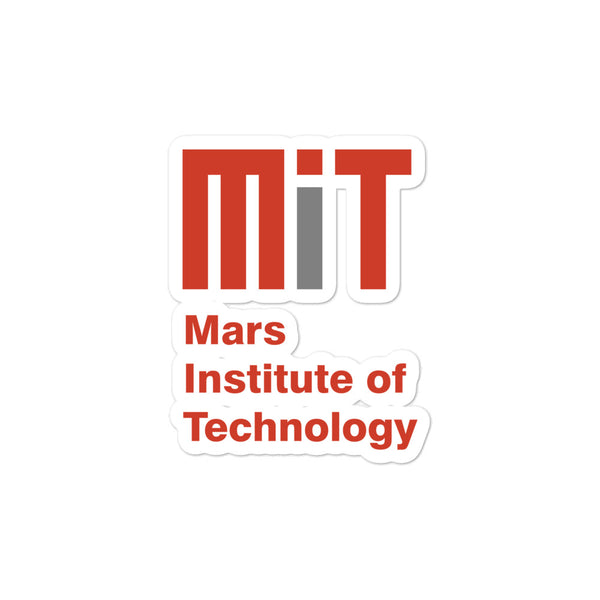 Mars Institute of Technology - Sticker