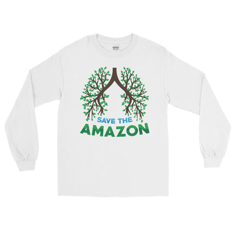Amazon Tree Lungs - Long Sleeve T-Shirt