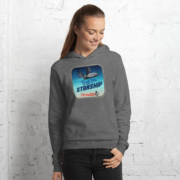 Thank You For Flying Starship - Unisex hoodie