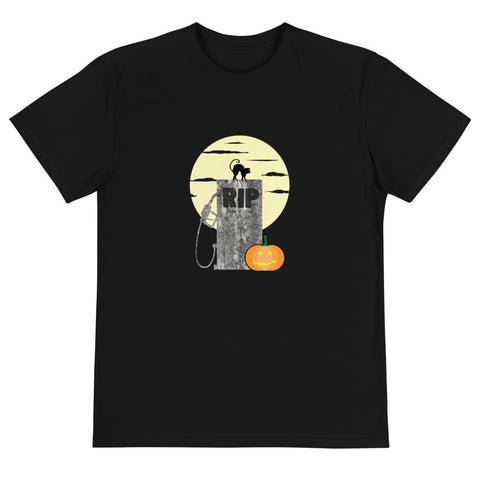 RIP ICE Cars Halloween Version - Sustainable T-Shirt