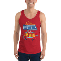 My Car Runs on Sunshine - Unisex Tank Top