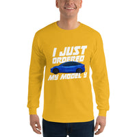 I just ordered a MODEL Y - Unisex Long Sleeve Shirt