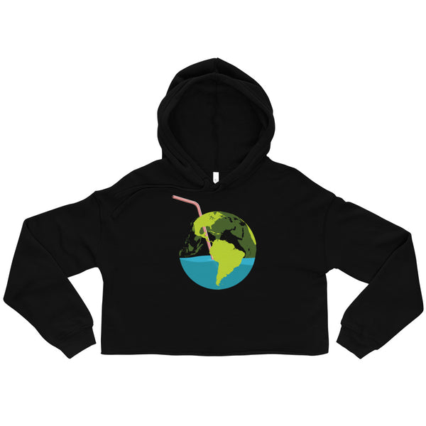 Sip of Earth - Crop Hoodie