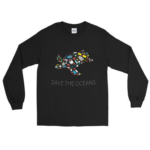 Save the Oceans - Long Sleeve T-Shirt
