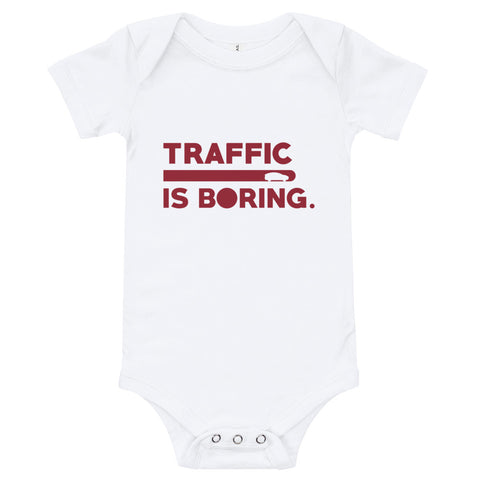 Traffic is Boring - Model X - Baby Onesie