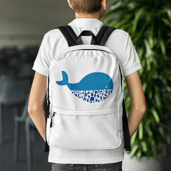 Plastic Diet - Whale - Backpack