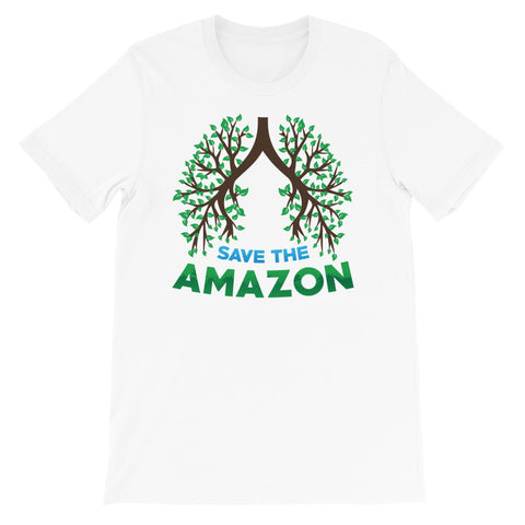 Amazon Tree Lungs - Short-Sleeve Unisex T-Shirt