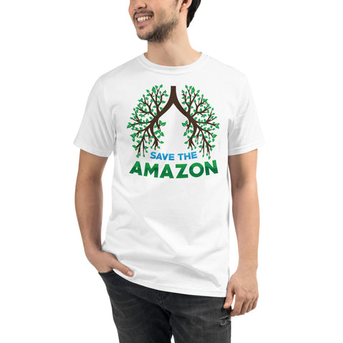 Amazon Tree Lungs - Organic T-Shirt