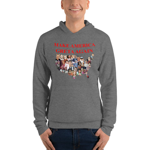 Make America Greta Again - America With Kids - Unisex hoodie