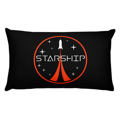 Starship Patch Design - Basic Pillow