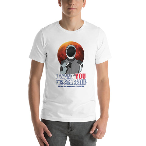 Uncle Starman - Short-Sleeve Unisex T-Shirt