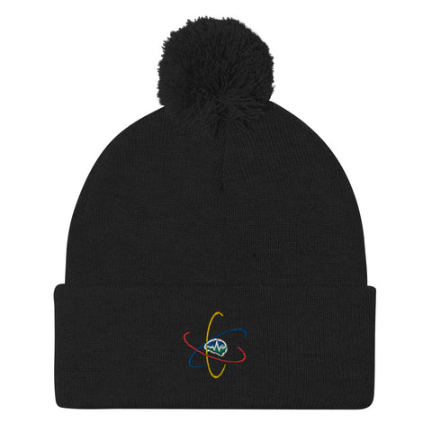 Now You Know Brain - Pom-Pom Beanie