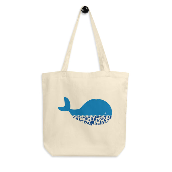 Plastic Diet - Whale - Eco Tote Bag