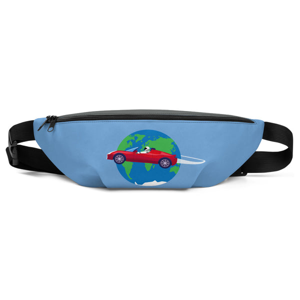 Starman Circles The Earth - Fanny Pack