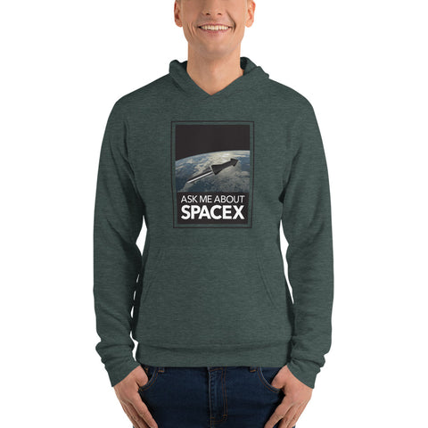Ask Me About SpaceX - Unisex hoodie