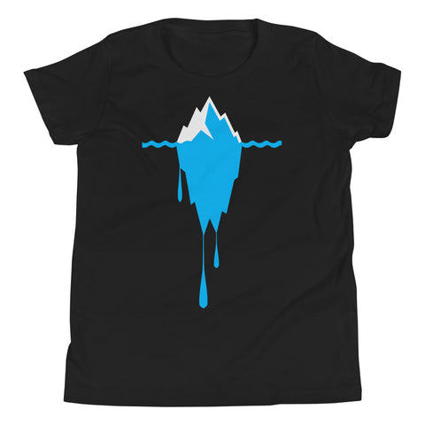 Melting Iceberg -Youth Short Sleeve T-Shirt
