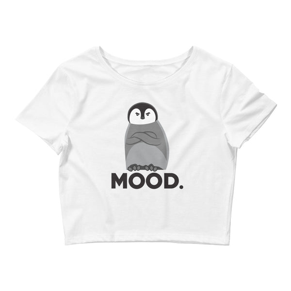 Judgemental Penguin - Women's Crop Tee