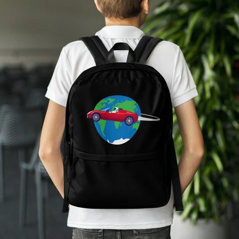 Starman Circles The Earth - Backpack